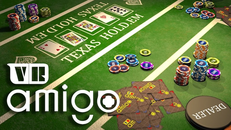 Amigo VR is an online virtual reality casino game